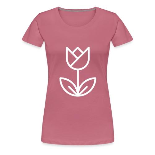 Tulip white png - Women's Premium T-Shirt