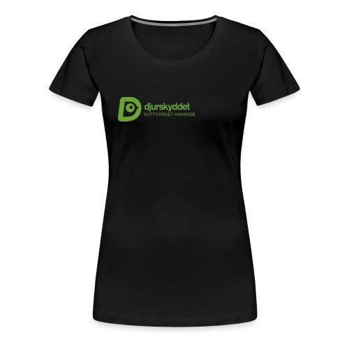 KV tryck png - Premium-T-shirt dam