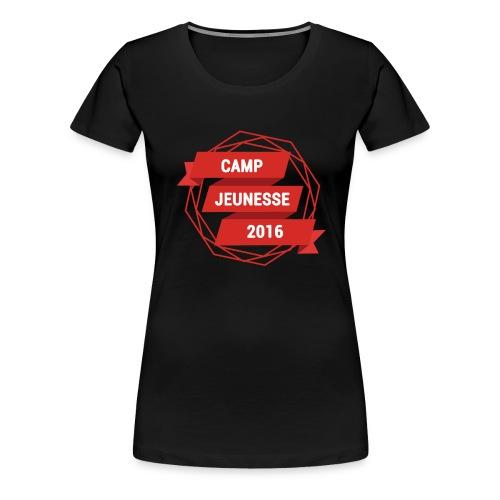 J'Y SERAI ET TOI - T-shirt Premium Femme