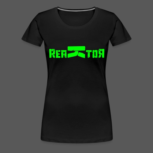 ReaKtoR Bandlogo - Frauen Premium T-Shirt