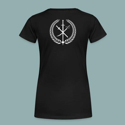 Logo Studio Neues Fechten HEMA - Frauen Premium T-Shirt