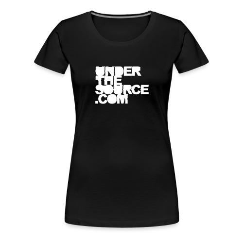 Under the Source - Frauen Premium T-Shirt