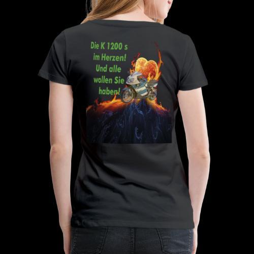 K12 im Herzen - Frauen Premium T-Shirt