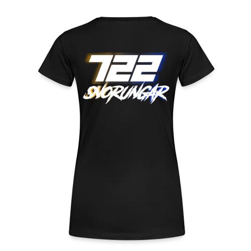 722 standard design 2017 - Premium-T-shirt dam