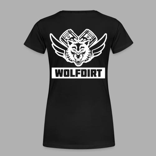 WOLFDIRT - VEKTOR - Frauen Premium T-Shirt