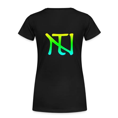 Green Fade Limited Edition - Premium-T-shirt dam