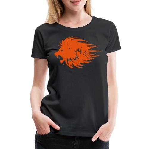 MWB Print Lion Orange - Women's Premium T-Shirt