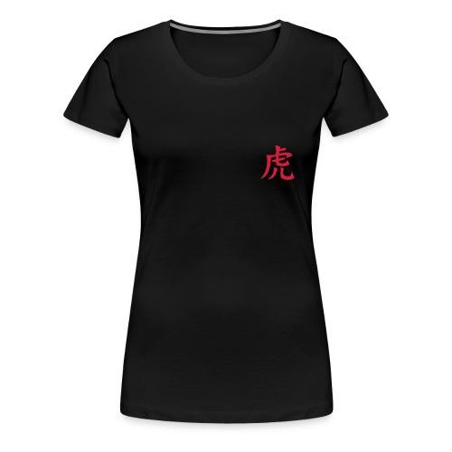 tora kanji - Women's Premium T-Shirt