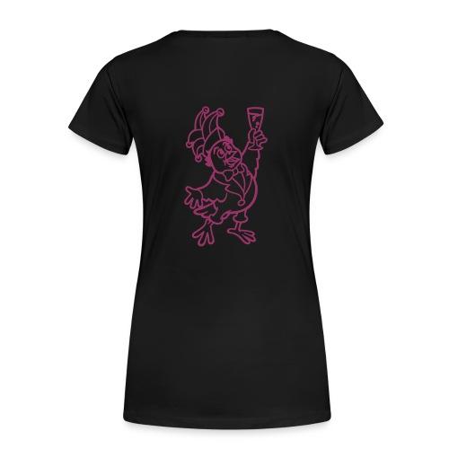 glasspatz vektor kleiner einfarbig - Frauen Premium T-Shirt