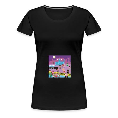 Crime Scene - Frauen Premium T-Shirt