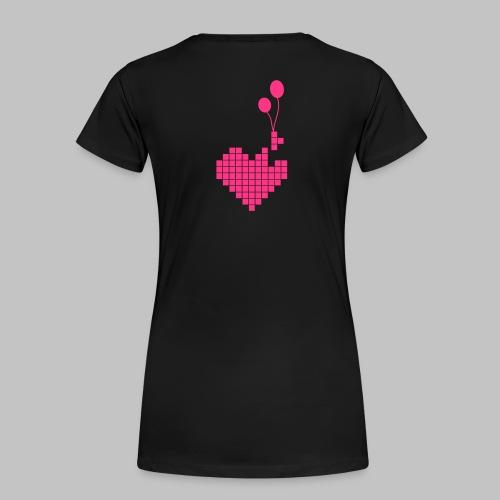 heart and balloons - Women's Premium T-Shirt
