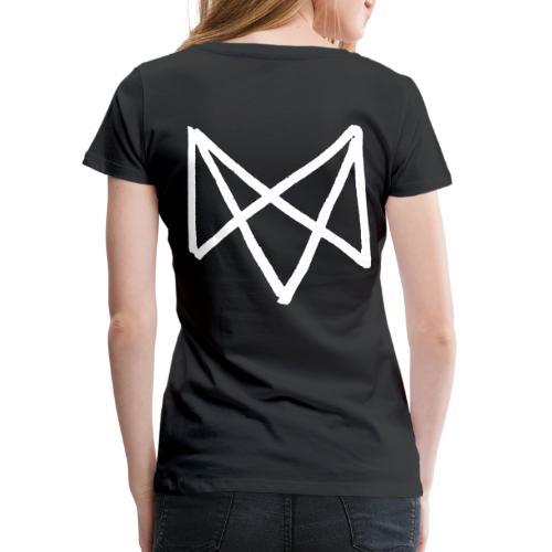 Mike Vallas Logo Back-Print - Frauen Premium T-Shirt