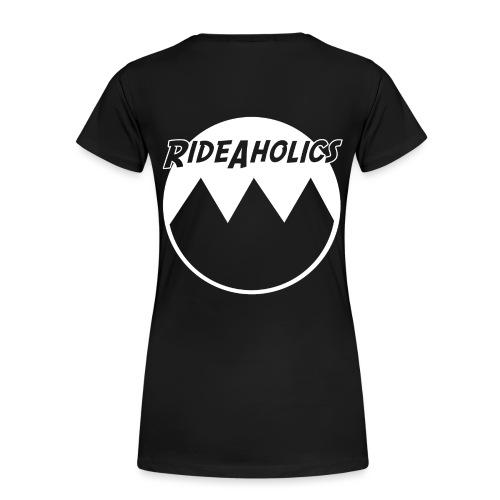 Rideaholicslogo - Frauen Premium T-Shirt