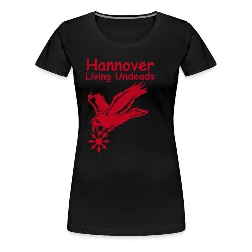 chaosrabetextfinal - Frauen Premium T-Shirt