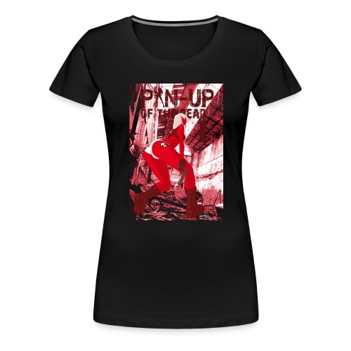 pin up of the dead 1 - T-shirt Premium Femme