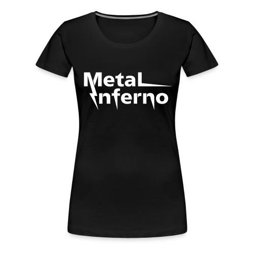 Metal Inferno - Frauen Premium T-Shirt