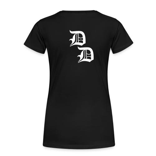 doppeld - Frauen Premium T-Shirt