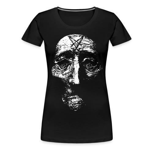 sigilhuvudgubbehalsband png - Premium-T-shirt dam