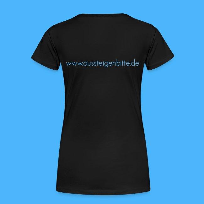 Aussteigen Bitte Logo Shirt png