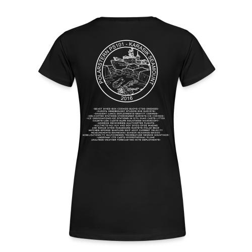 Polarstern 101 cruise shirts - Frauen Premium T-Shirt