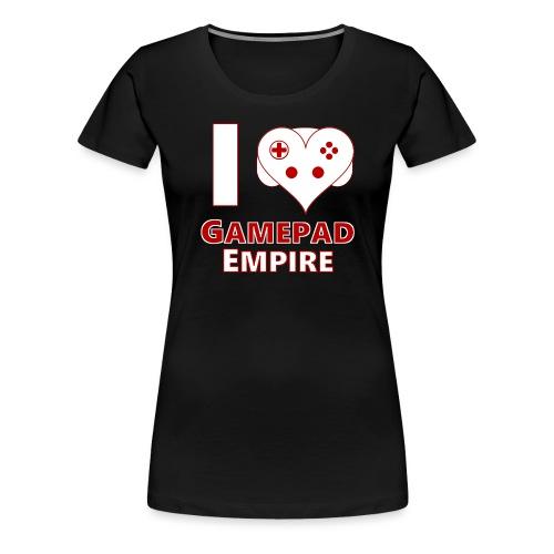 I love GPE png - Frauen Premium T-Shirt