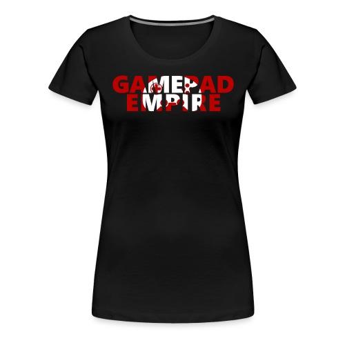 Schriftzug inkl. Logo - Frauen Premium T-Shirt
