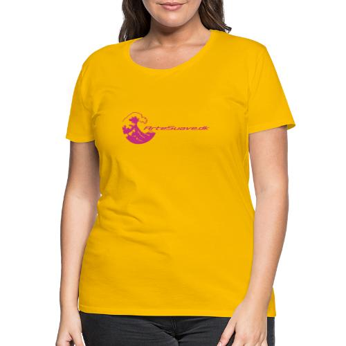 arte suave small - Dame premium T-shirt