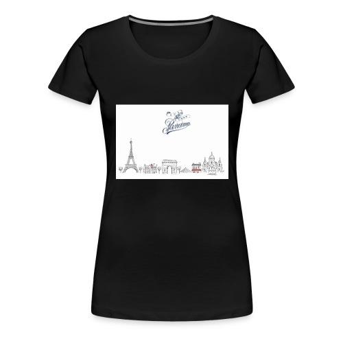 FRENCHPARIS jpg - T-shirt Premium Femme