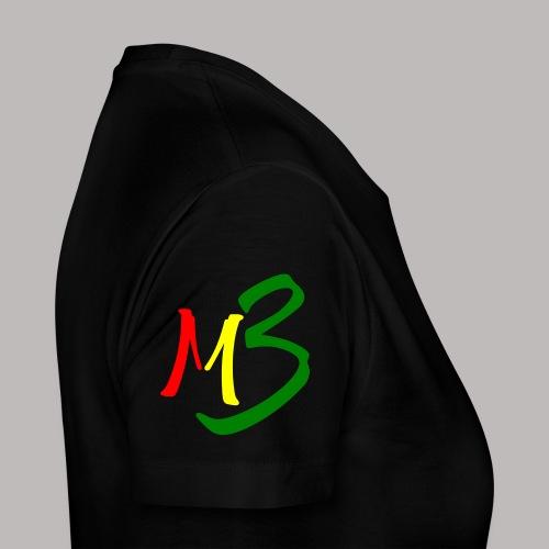 MB13 Logo rasta2 - Women's Premium T-Shirt