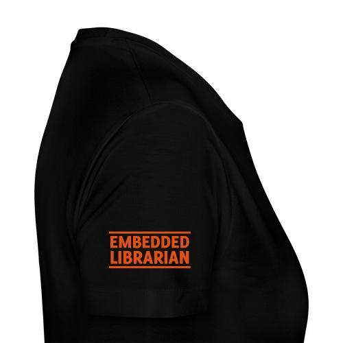 embedded librarian mit linien - Frauen Premium T-Shirt