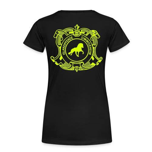 islandpferdereistchule pfad ohneweb - Frauen Premium T-Shirt