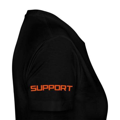 Rattstopp Racing Support - Premium-T-shirt dam