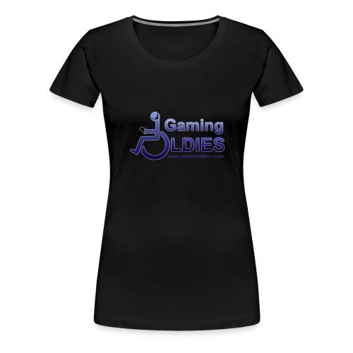 Gaming OldiesV4Merchandise copy png - Women's Premium T-Shirt