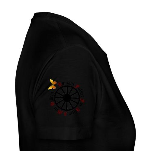 LennyhjulRomaniFolketisvartfjaerli - Premium-T-shirt dam