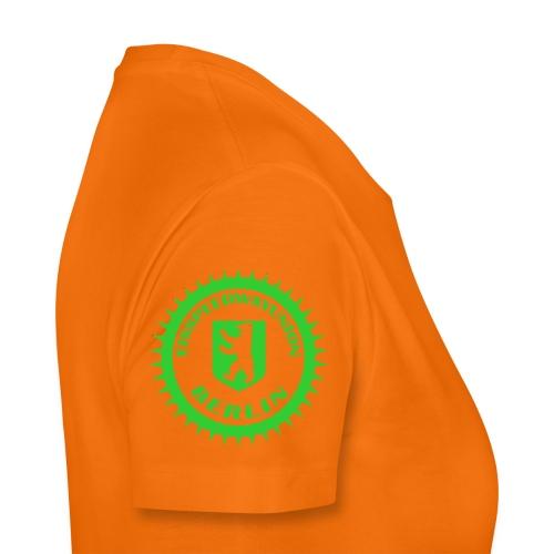 Logo klein ESU transp Green - Frauen Premium T-Shirt