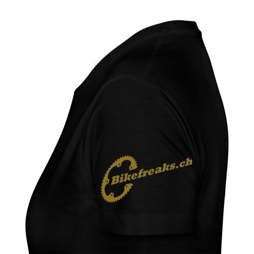 Bikefreaks ch 3 black - Frauen Premium T-Shirt