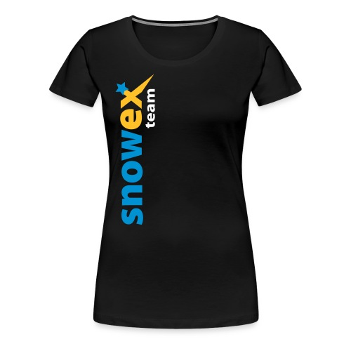 bike_logo_blue - Frauen Premium T-Shirt
