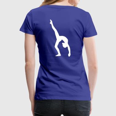 Turnen Bogengang - Frauen Premium T-Shirt