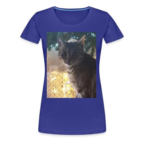 Christmas cat - Women's Premium T-Shirt