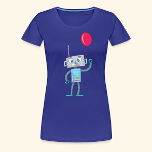 Cute Robot Kids Tees - Women's Premium T-Shirt