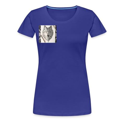 loup - T-shirt Premium Femme