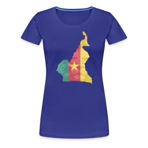 lion head - Frauen Premium T-Shirt