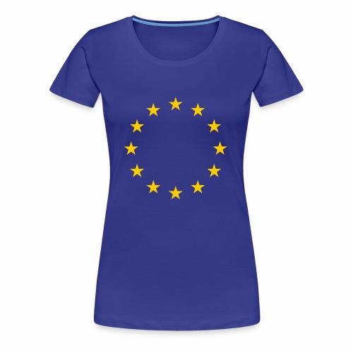 EU flag - Women's Premium T-Shirt
