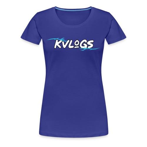 K Vlogs - Vrouwen Premium T-shirt