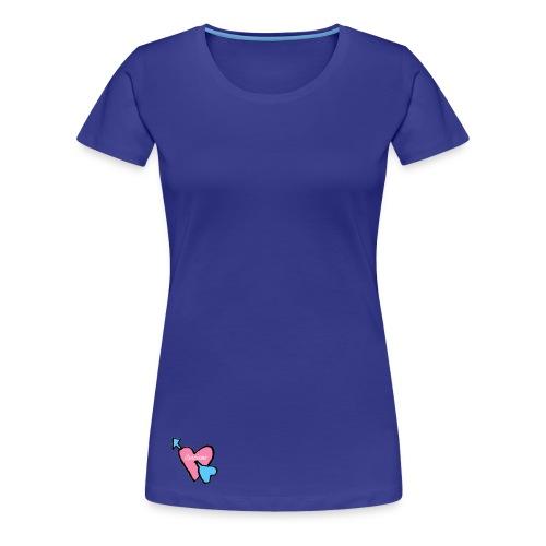 Spicious love logo - Vrouwen Premium T-shirt