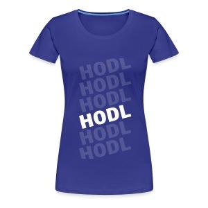 HODL white - Camiseta premium mujer