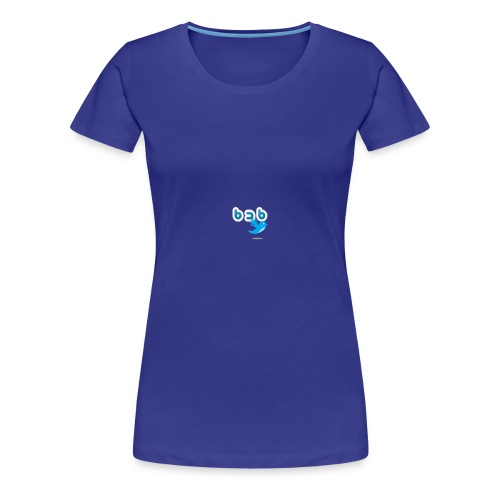 Logo b2bTwitter - Vrouwen Premium T-shirt