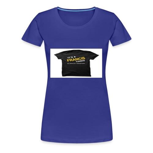 2213E5D5 CE38 40E2 8843 3DC3C7AC61B9 - Women's Premium T-Shirt