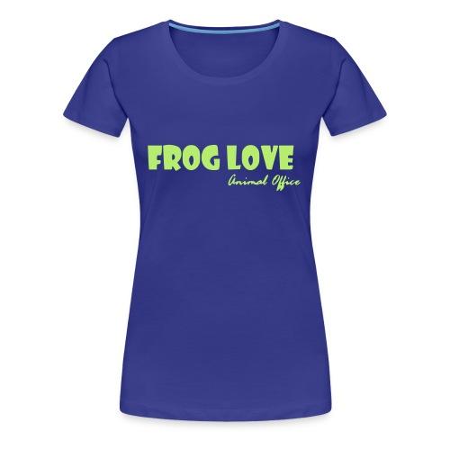 Frosch Liebe - Frauen Premium T-Shirt