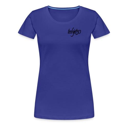 Techjet30 Siganture Design - Women's Premium T-Shirt